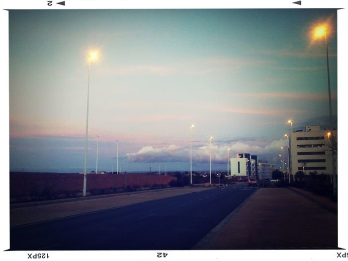 Clouds And Sky Huelva Enero 2013 Lola Rivera