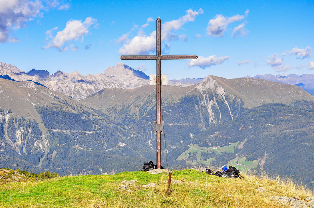 Auf dem Gamskofel Alps Austria Beauty In Nature Blue Break Carinthia Cloud - Sky Day Landscape Lesachtal Mountain Mountain Range Nature No People Outdoors Scenics Sky Tranquil Scene Tranquility Tree View
