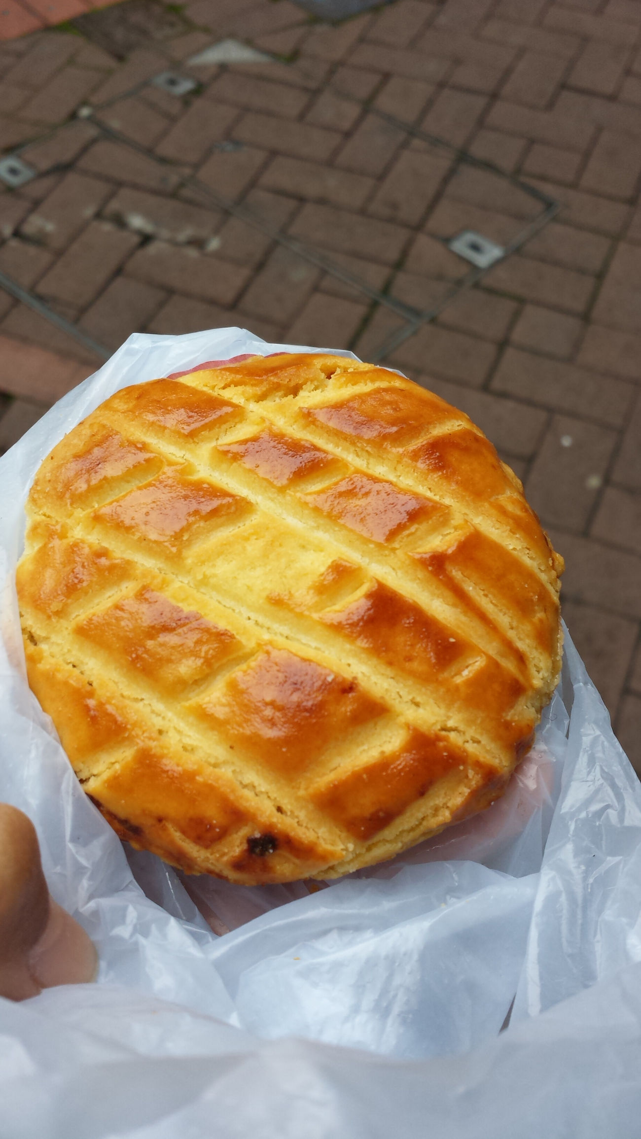 Surprised yummy chicken pie ? it costs $8 Hongkongfood
