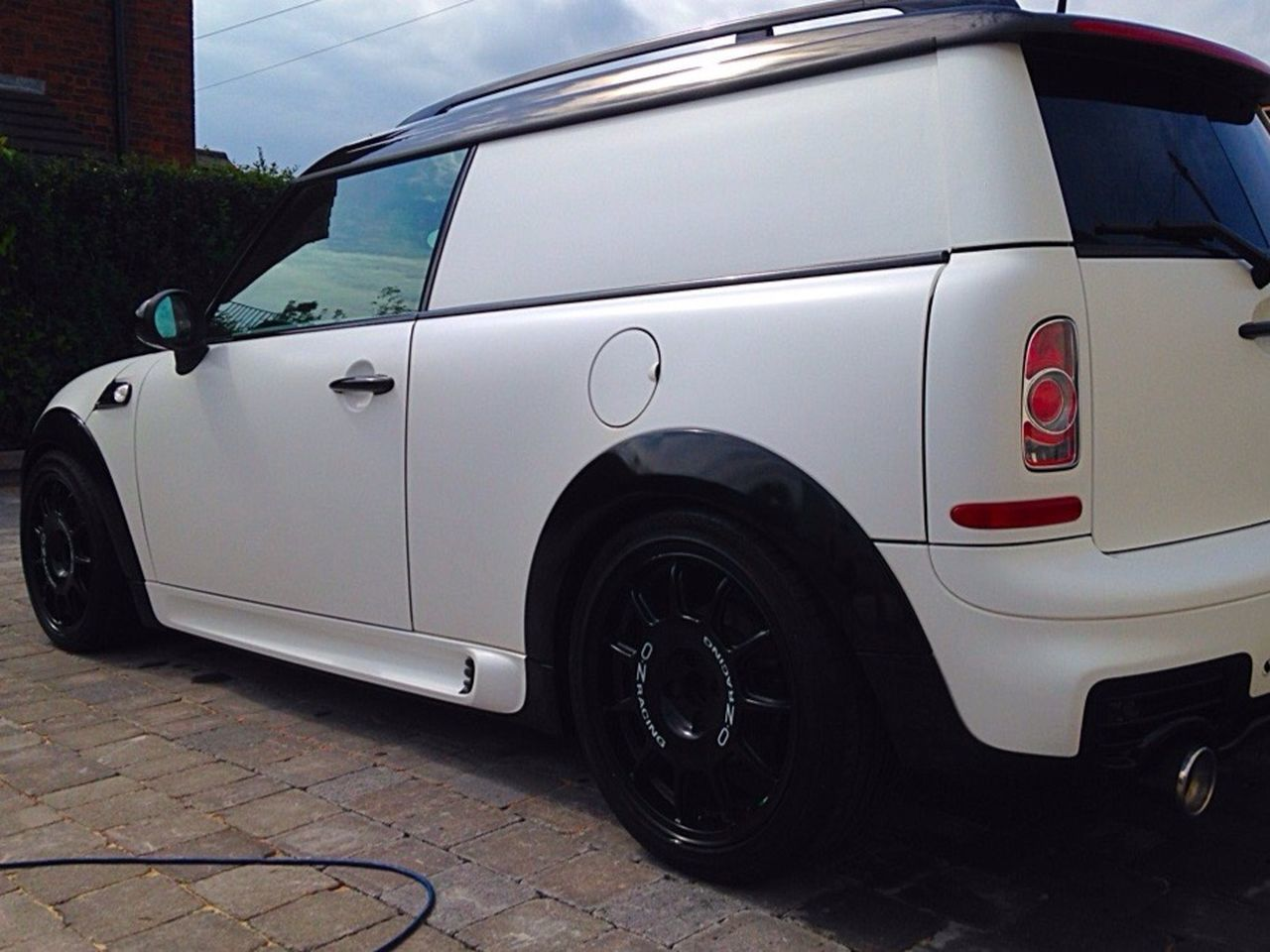 Gr8reflectiondetailing Miniclubvan Detailed To Perfection Wrapped In White Race Van