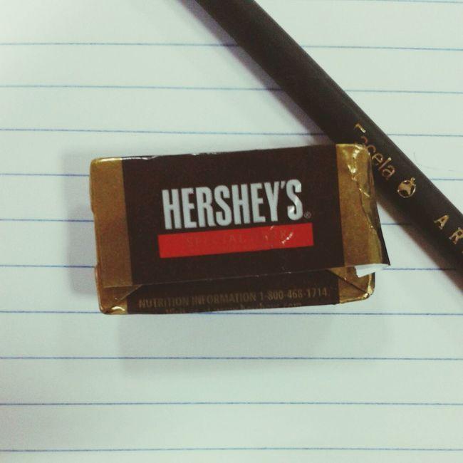 Sweet! before starting class!