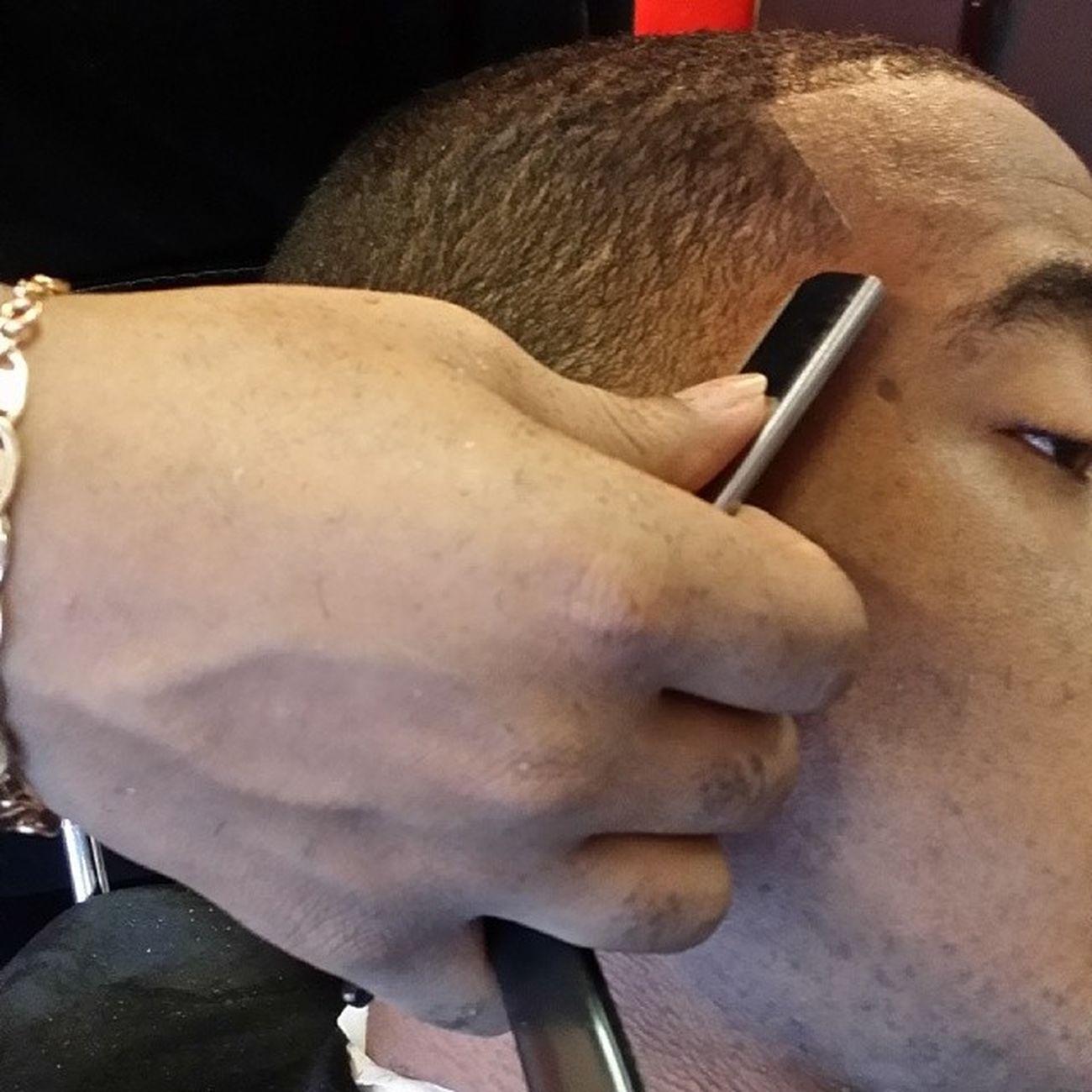 It's all in the wrist Barbershopconnect RazorWork Barbergang