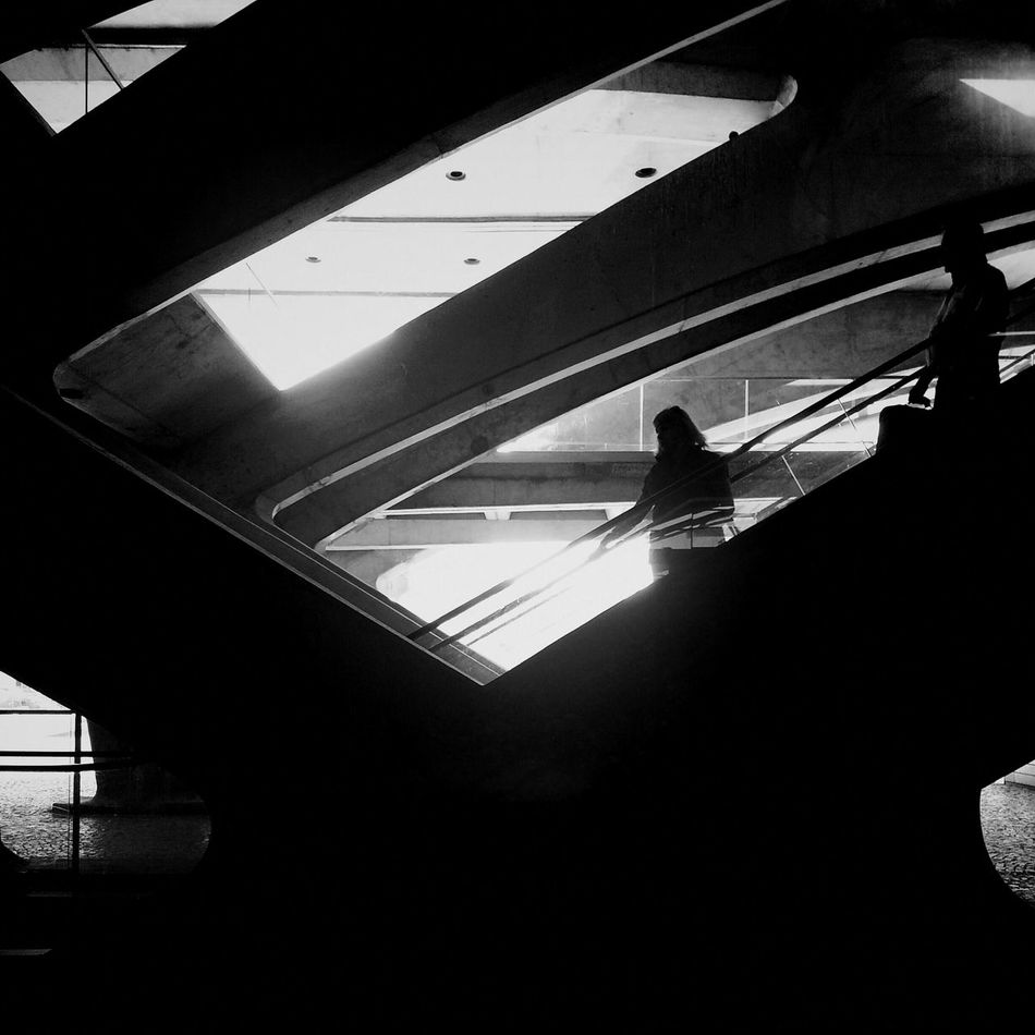<After Darkness, Light> Andrographer Blackandwhite Two By Two Lisbon