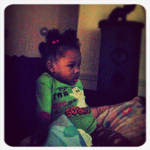 My Niece #Lackin'