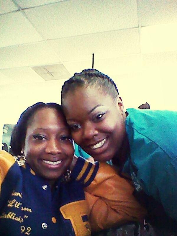 me & my main bitch..! love ya thru whateva...! :-)