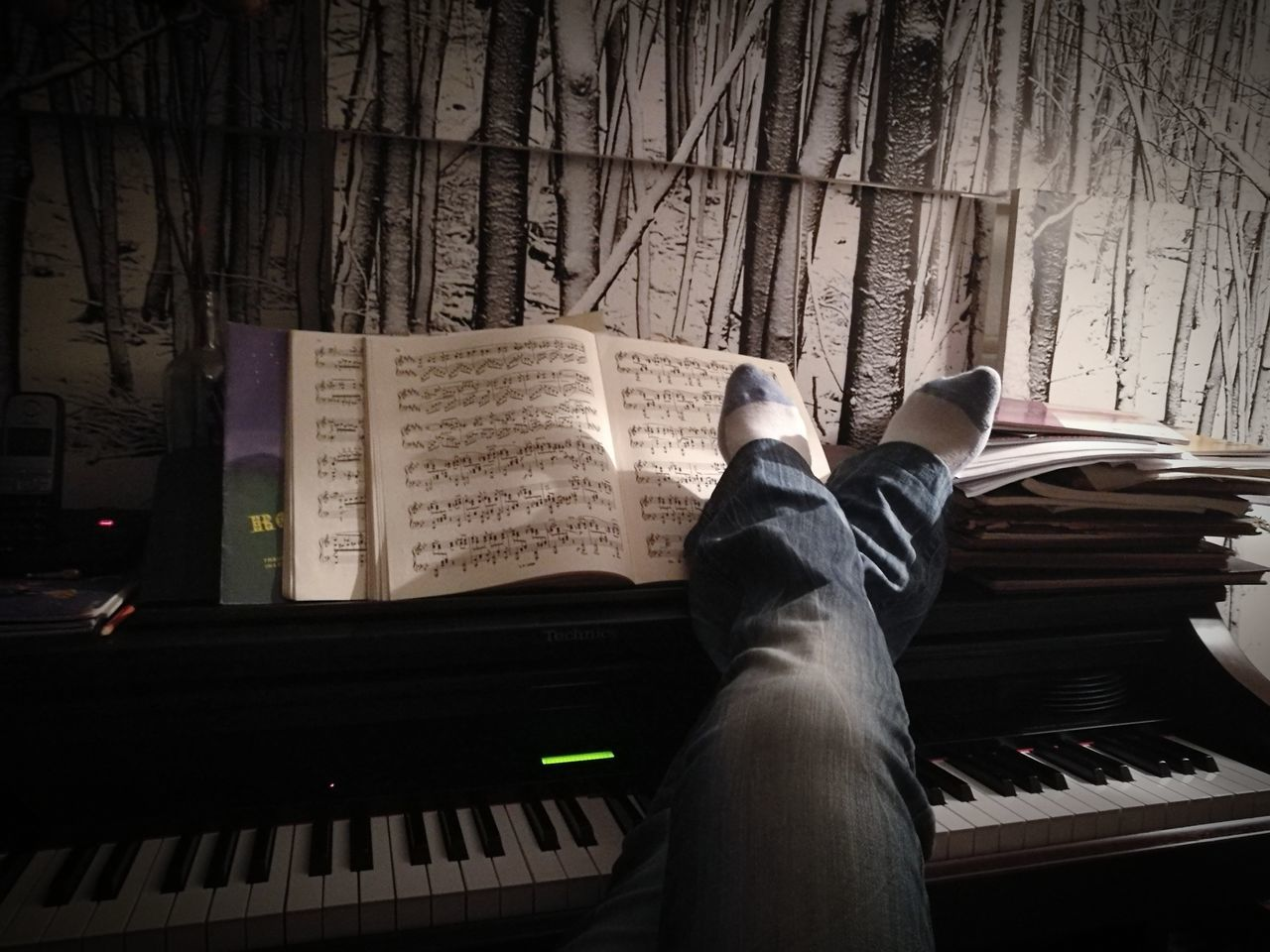 Piano Moments Low Section Human Body Part Human Leg Adults Only One Person Piano Player Relaxing Moments Music Brings Us Together Musical Instruments Musical Evening My Live, My Wold Catch The Moment Eyem Gallery Eyeemphoto Eveningmood