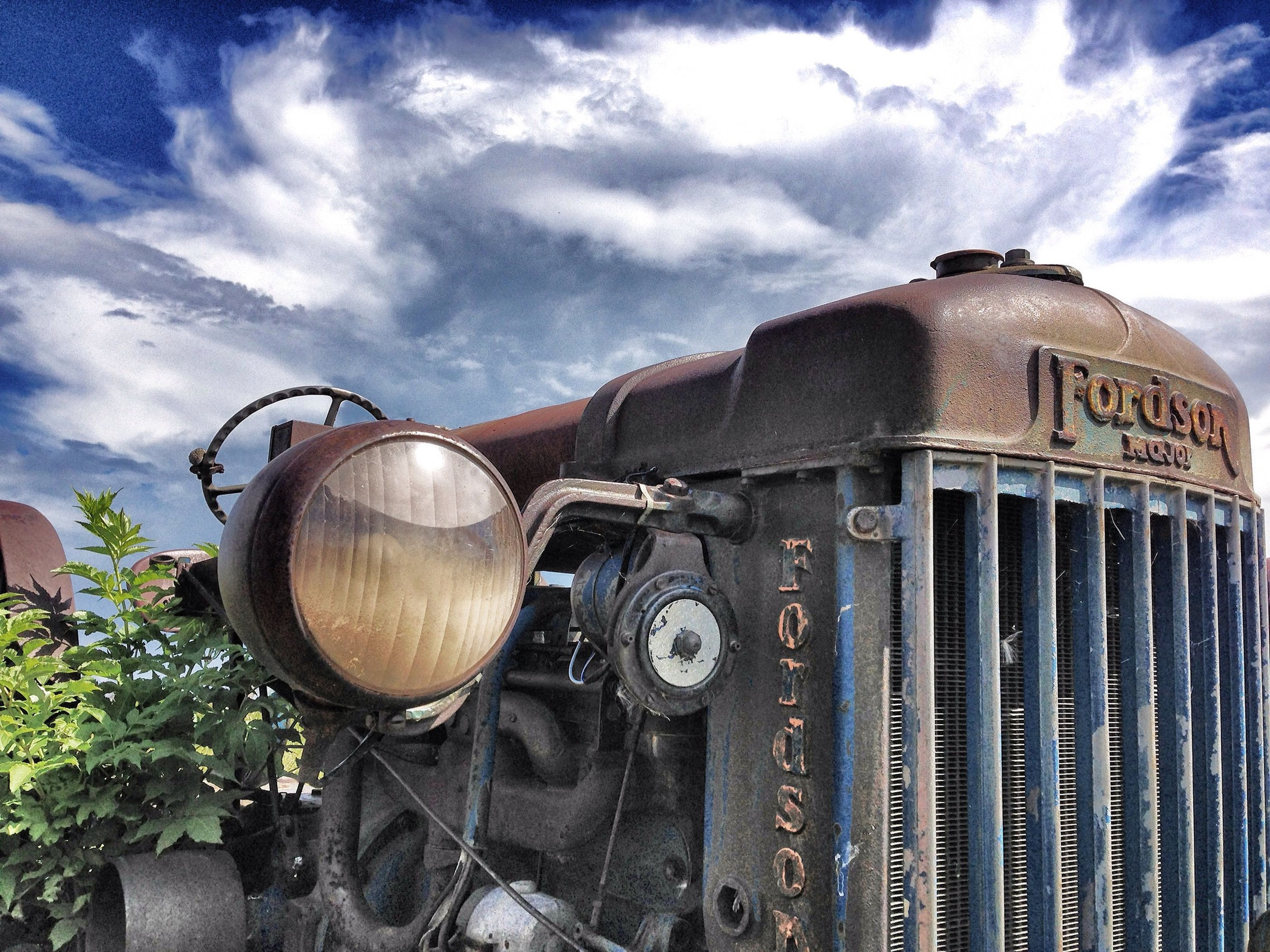sky, cloud - sky, abandoned, obsolete, old, cloudy, cloud, transportation, rusty, building exterior, built structure, land vehicle, architecture, damaged, deterioration, run-down, old-fashioned, mode of transport, metal, day