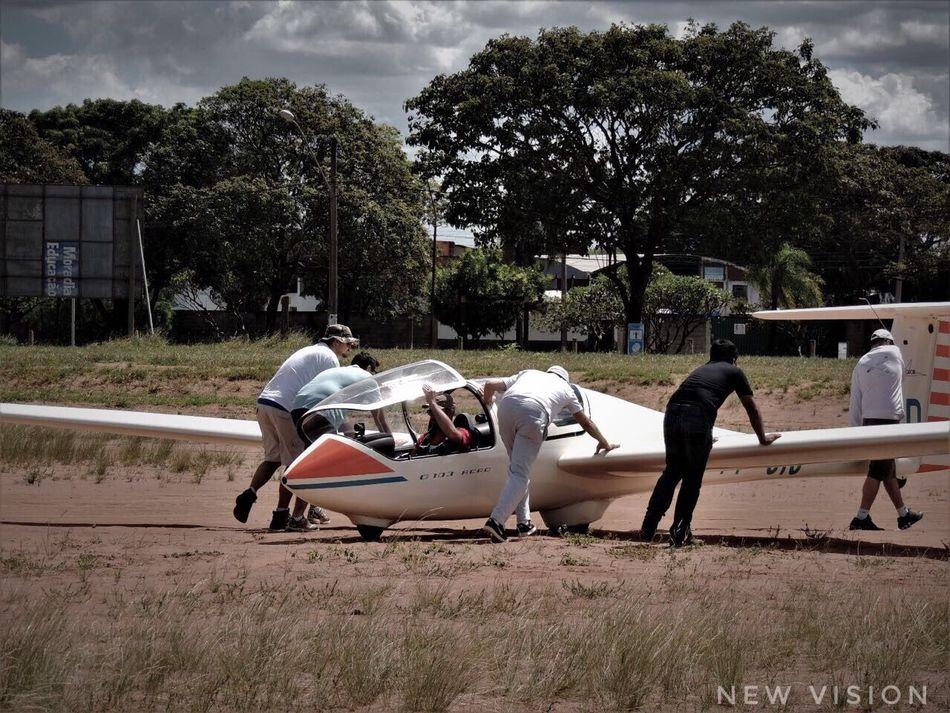 Glider Airplane Aircraft Rio Claro New Vision