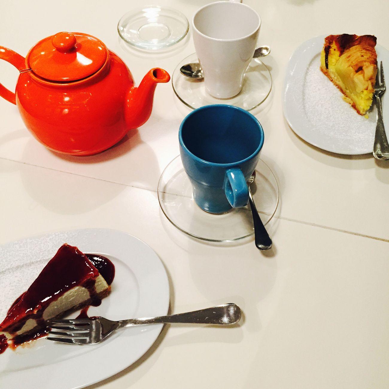Merenda  Tea Pausa Caffe Gateau Cake Snack Time! Gateaux Cakes