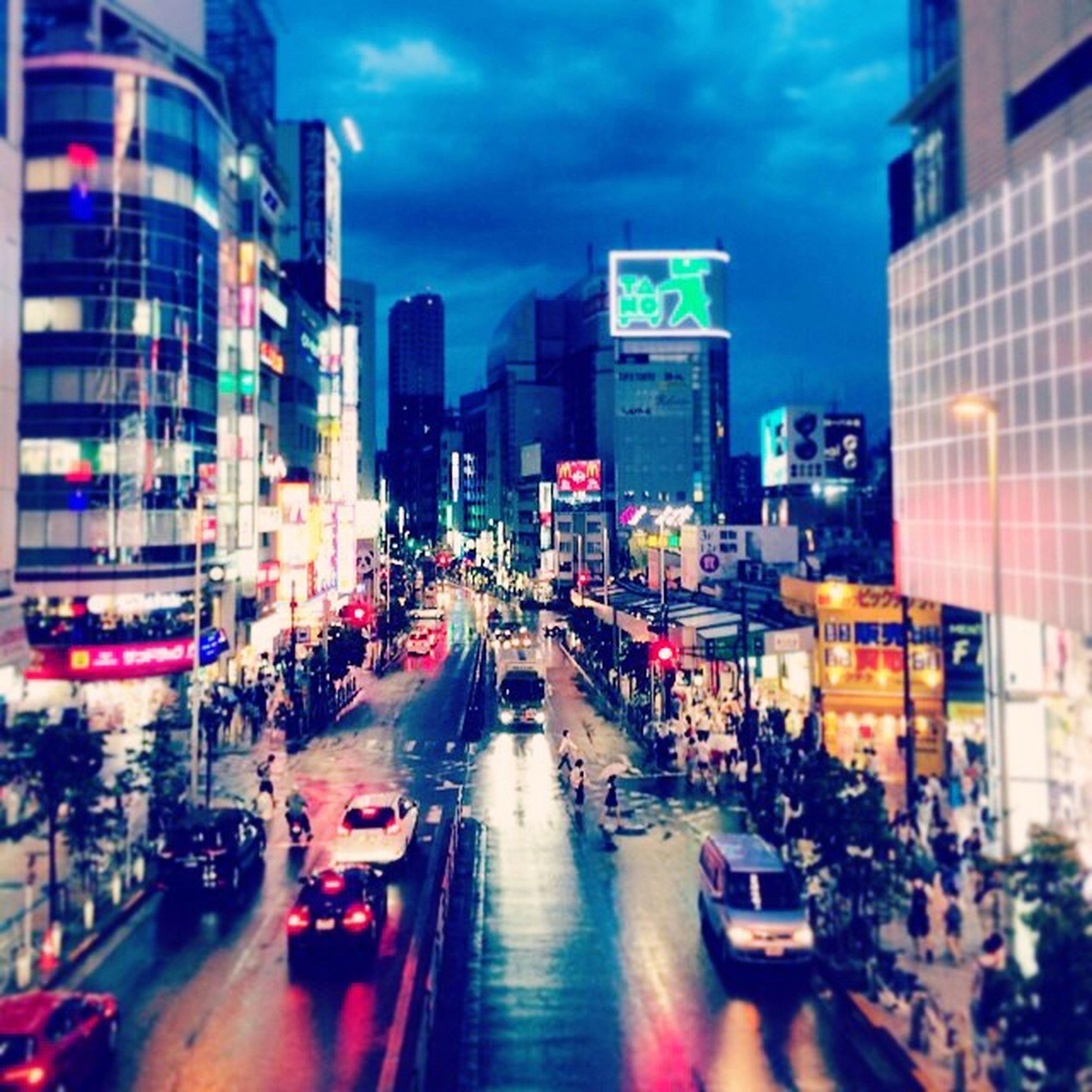 Japan Tokyo Shibuya Rainy-day