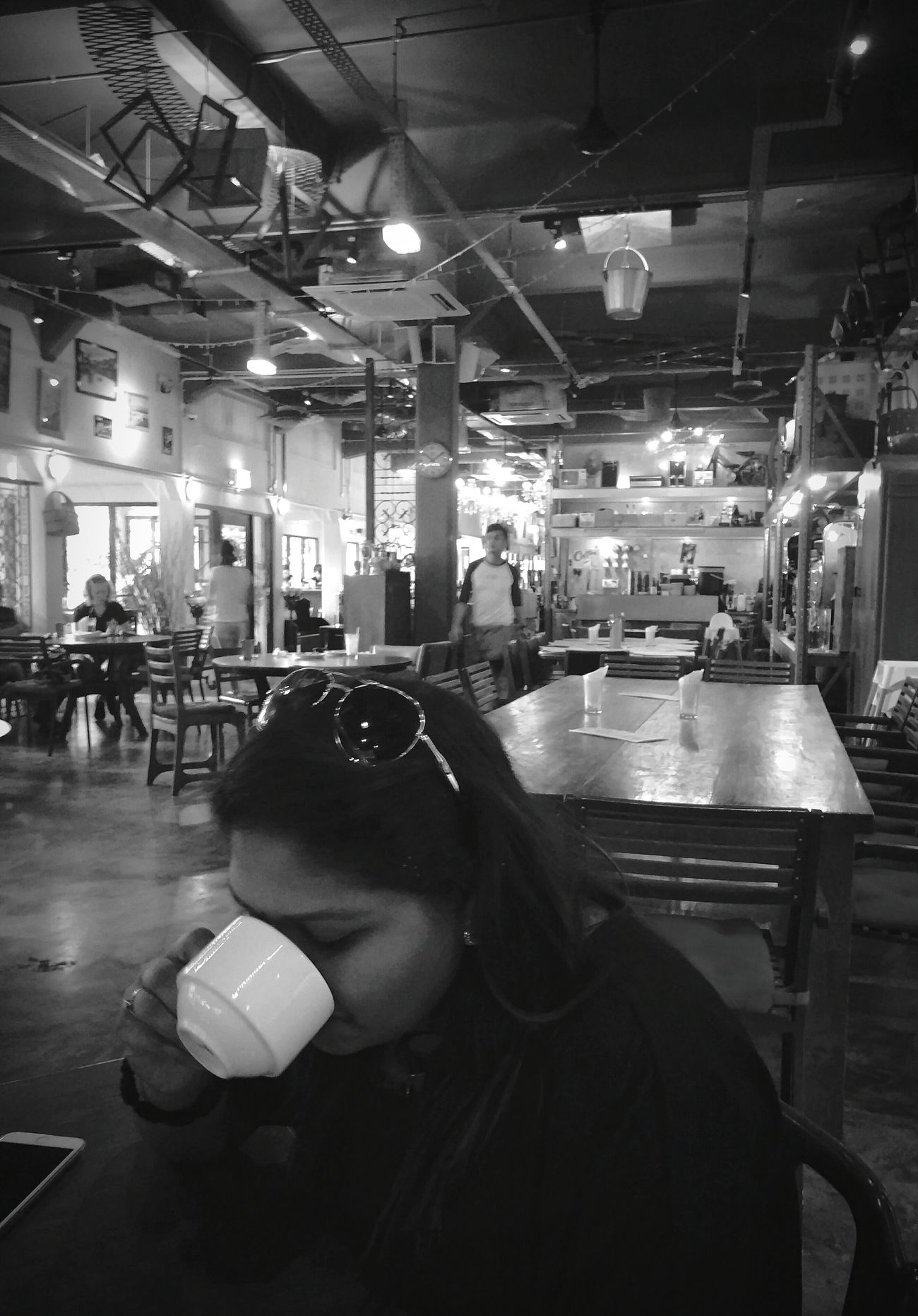 Shades Of Grey Coffee Cafe Tea Time Cafe Break Vintage