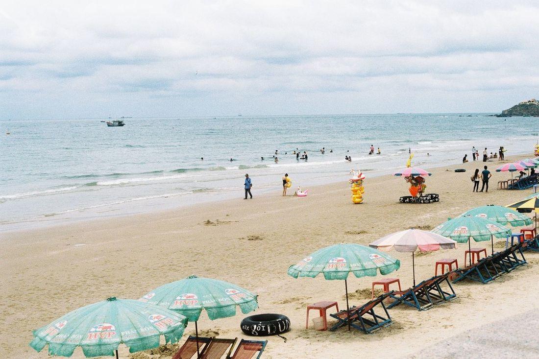 OlympusOM1 Beach Time Vungtaucity Vietnam Sunnyday 2016 Film135