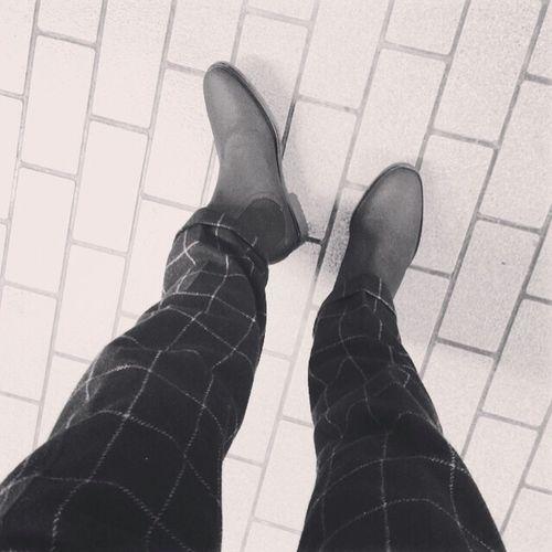 サイドゴア ブーツ