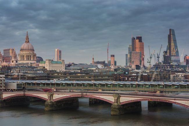 EyeEm Best Shots - Landscape Bridges EyeEm Best Shots - Long Exposure London Blackfriars Bridge Blackfriars England Eyem Best Shot - Architecture The City Cityscapes