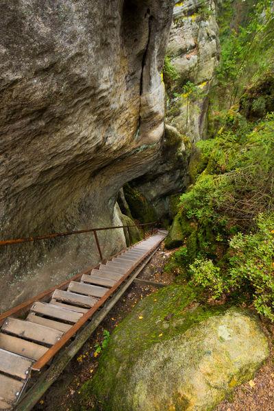 Adršpach Adršpachské Skály Beauty In Nature Day Mountain Nature No People Outdoors Rock - Object Water