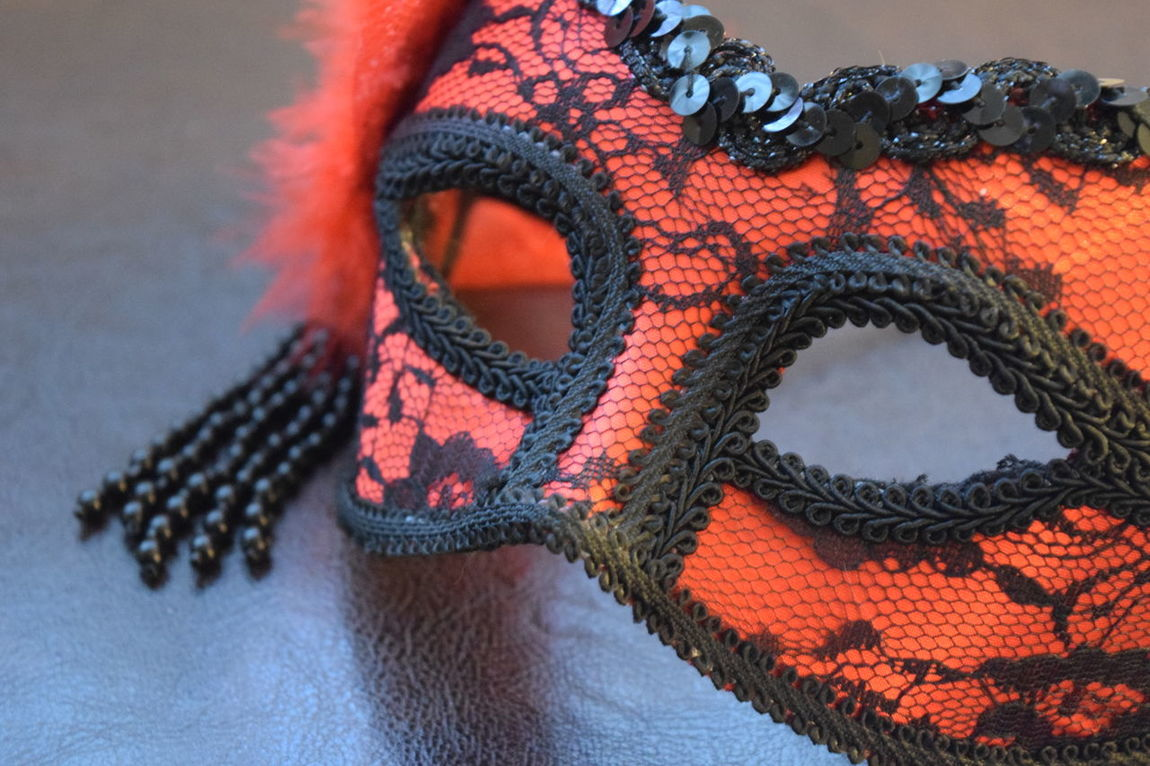 Beads Close-up Day Indoors  Landscape Mask Masquerade Masquerademasks Mystery No People Sequins