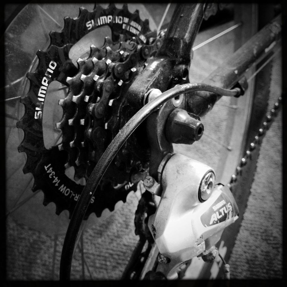 ready to roll Bikes Blackandwhite Hipstamatic Streetphotography