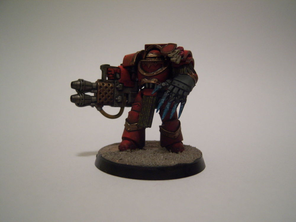 Blood Angels Cataphractii Commission Work Commissionwork Miniatures Painting Miniatures Terminator Warhammer Warhammer30k