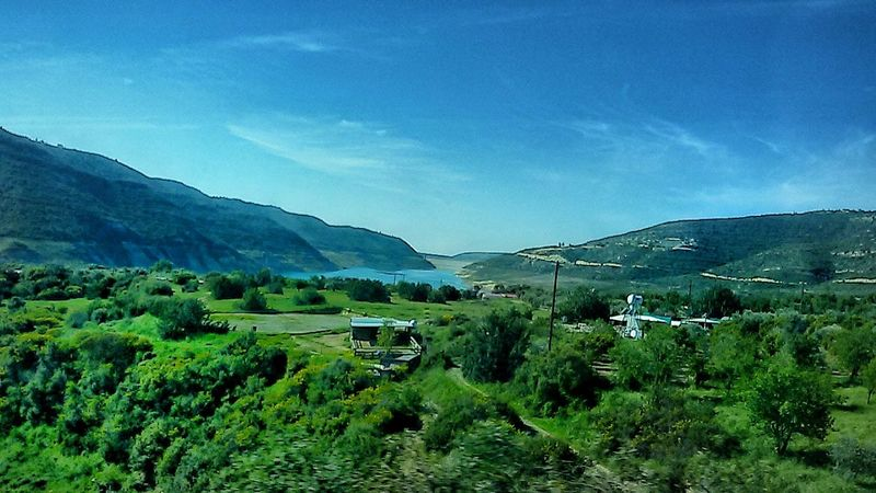 Landscape Mountain Rural Scene Beauty In Nature Tree Beauty Sky Vacations Day Nature Green Blue Blue Sky Blue Sea Edit Lightroom Samsungphotography South Cyprus in Cyprus