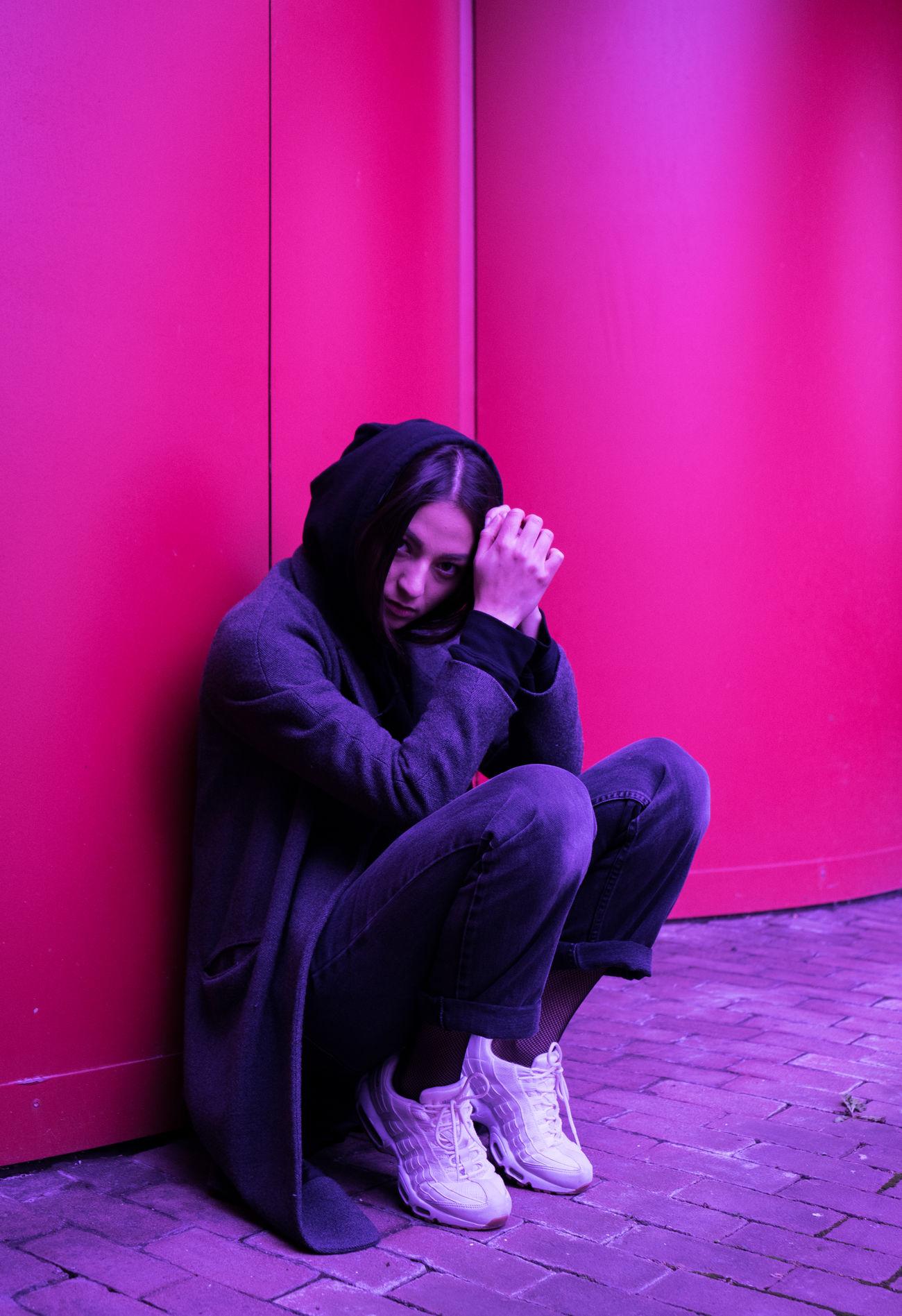 MARISSA LEE 0711 Adults Only Constantinschiller Depression - Sadness Full Length Herrschiller Loneliness One Person Schillergirls Sitting Social Issues Stuttgart Young Adult