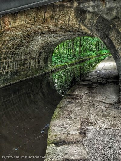 Tunnel Of Love Saddleworth Uppermill Canals And Waterways Reflections In The Water Water Reflections Reflection