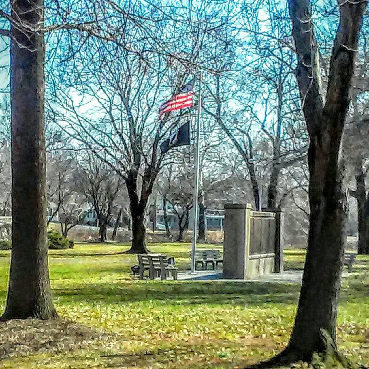 Hanging Out Taking Photos Flags WWII Memorial Manatawny Park Photos By Jeanette American Flag Trees Pottstown,pa Home Sweet Home Hometown Day OutMonument Respect Architecture Beautiful Day Urban Spring Fever Learn & Shoot: Balancing Elements Here Belongs To Me Long Goodbye