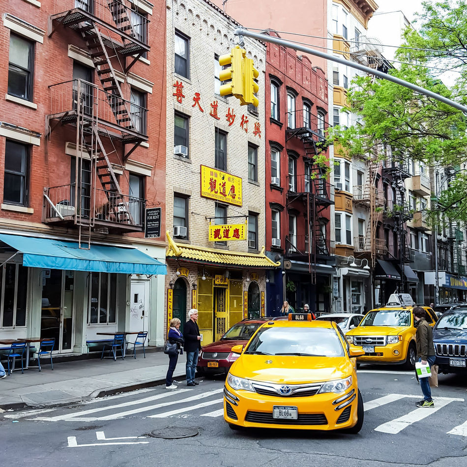 Out & about. Yellow Taxi Taxi City City Life City Street Architecture Outdoors Transportation Travel Destinations EyeEm Gallery NYC Streetphotography EyeEmBestPics New York City Photography Mobile Photography NYC Photography Eeyem Photography Travel Street Photo Urban Lifestyle Shootermag_usa Spring 2017
