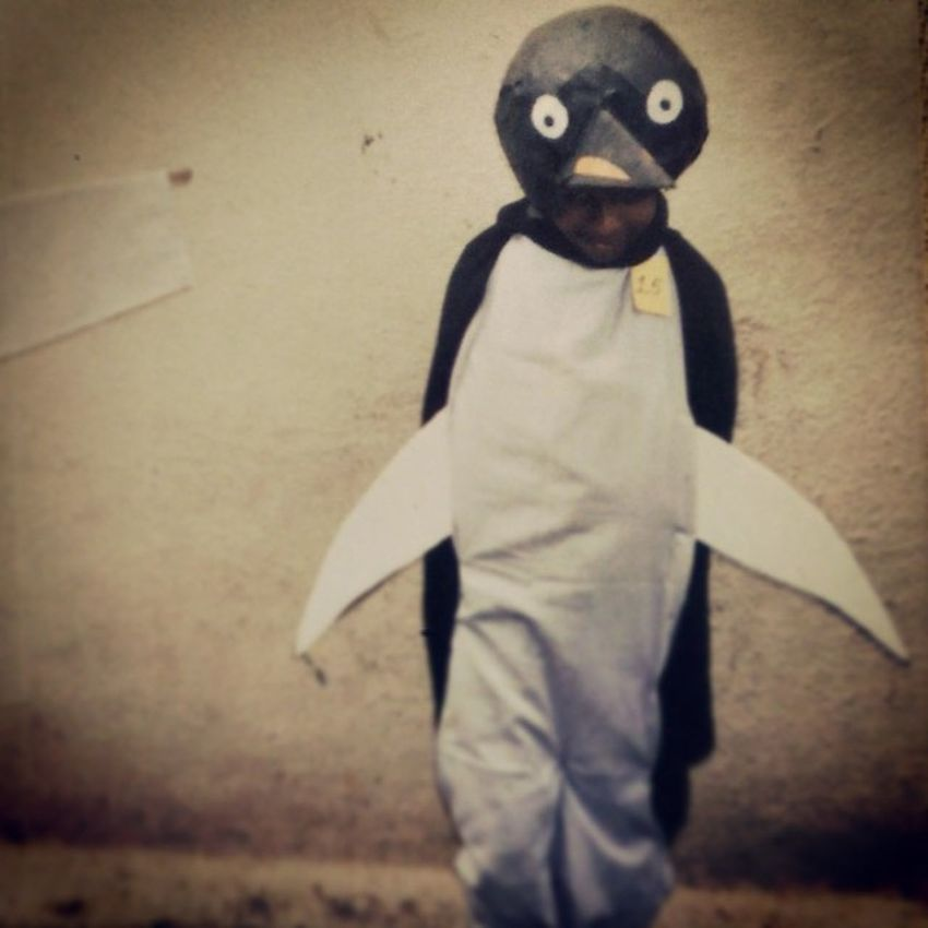 Me Class2 Fancydress Old Memories School Pingu Instagram Instafun 2ndprize Picoftheday