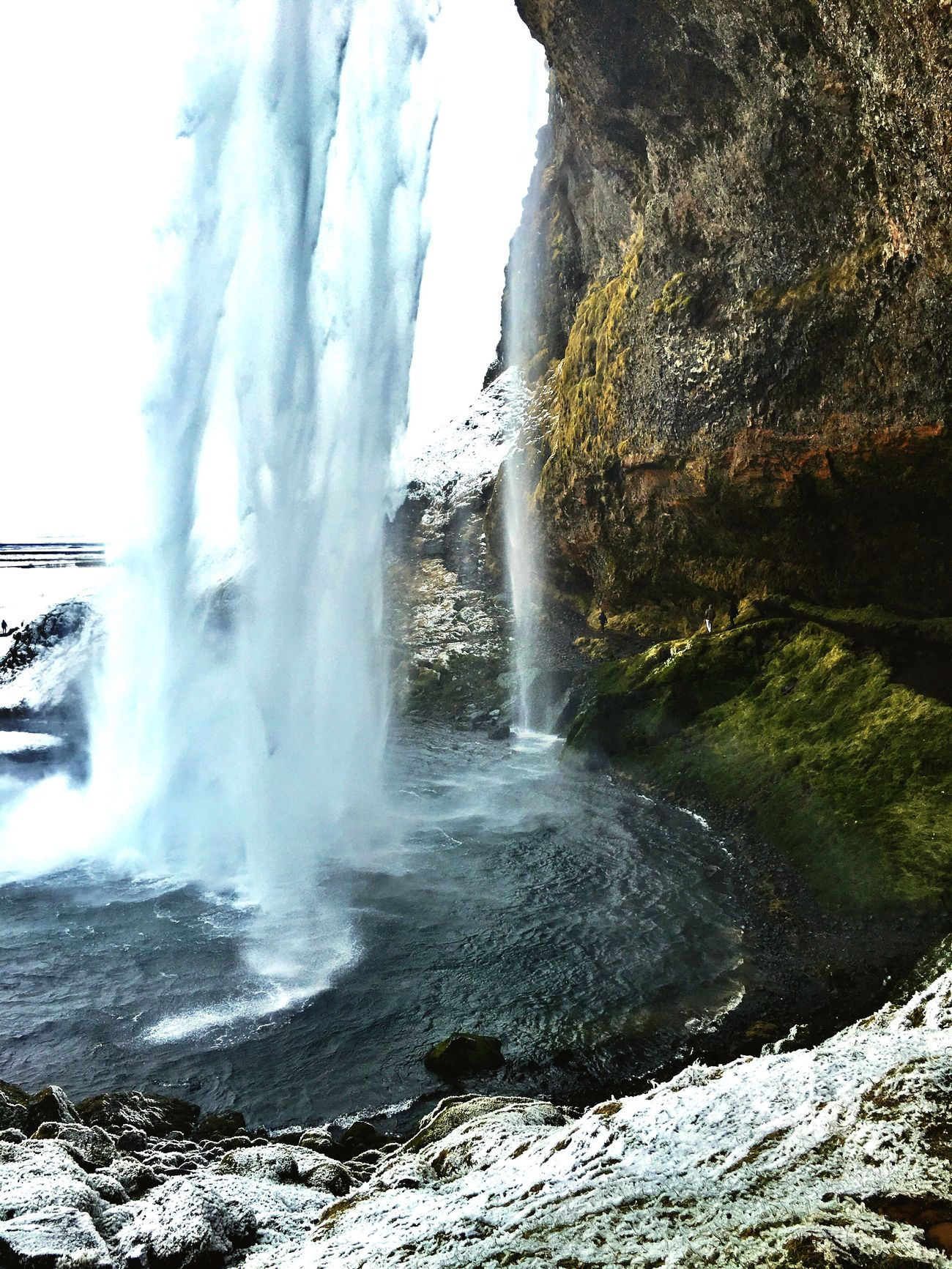 Waterfall Wet Hiking Iceland_collection Iceland116