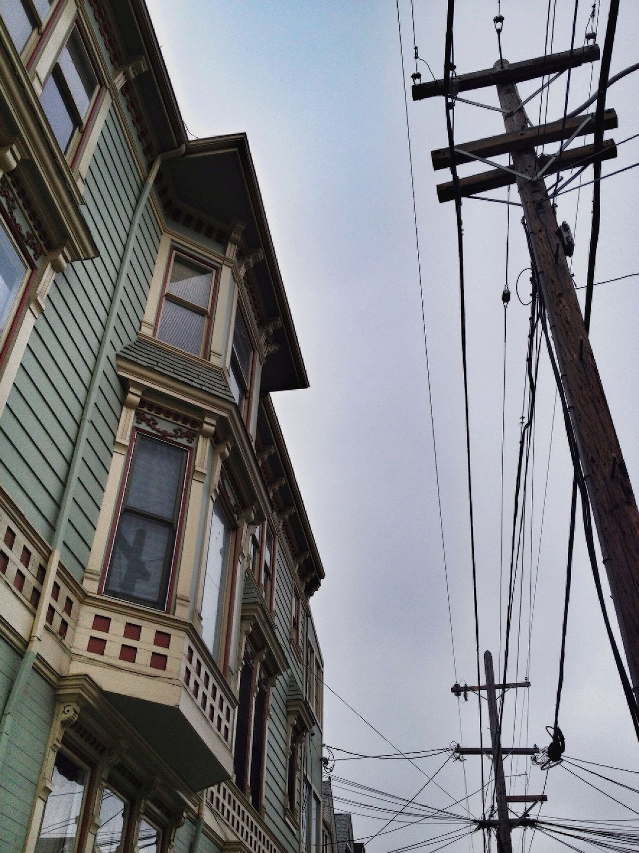 EyeEm San Francisco Meetup July 2013 Lookingup Power Lines