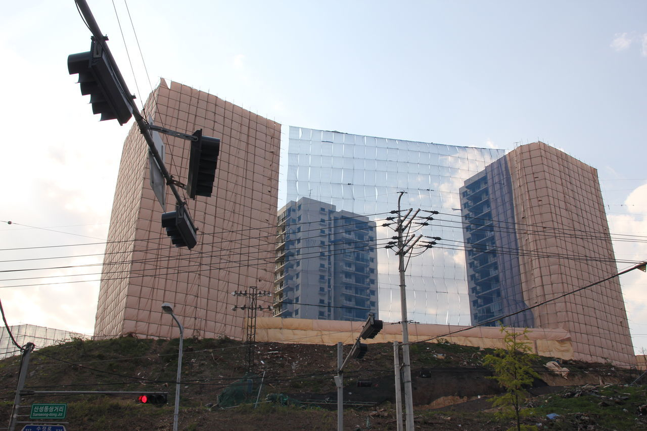Apartment Architecture Building Exterior Built Structure City Day Demolition Destruction Low Angle View Modern No People Outdoors Residential Building Seongnam Skyscraper