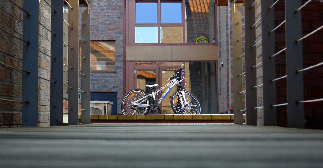 Lithuania Nida City Nida Lithuania Architecture Bicycle Building Exterior Built Structure City Day Land Vehicle Mode Of Transport No People Outdoors Stationary Transportation
