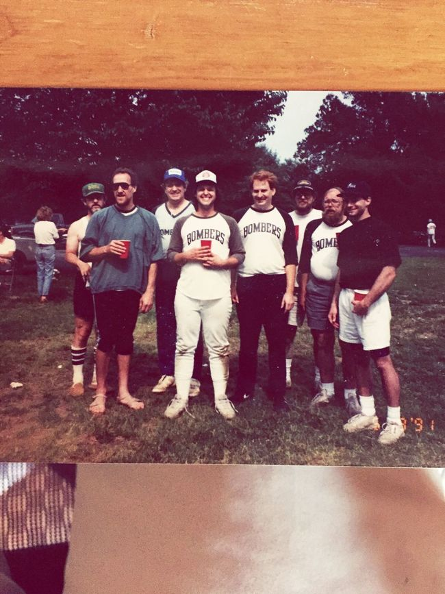 When you're perusing through photos and Jerry's squad pops up The Greatest Collection Of Studs You Will Ever See It Never Rains On The Bombers The Stache Bros