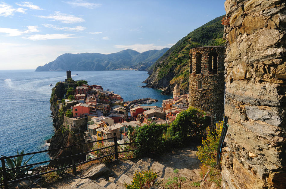 Cinque Terre Famous Landmarks Famous Place Genova Houses Italy Liguria,Italy Manarola Nature Old Town Sea Small Town Travel Destinations Vernazza Villages