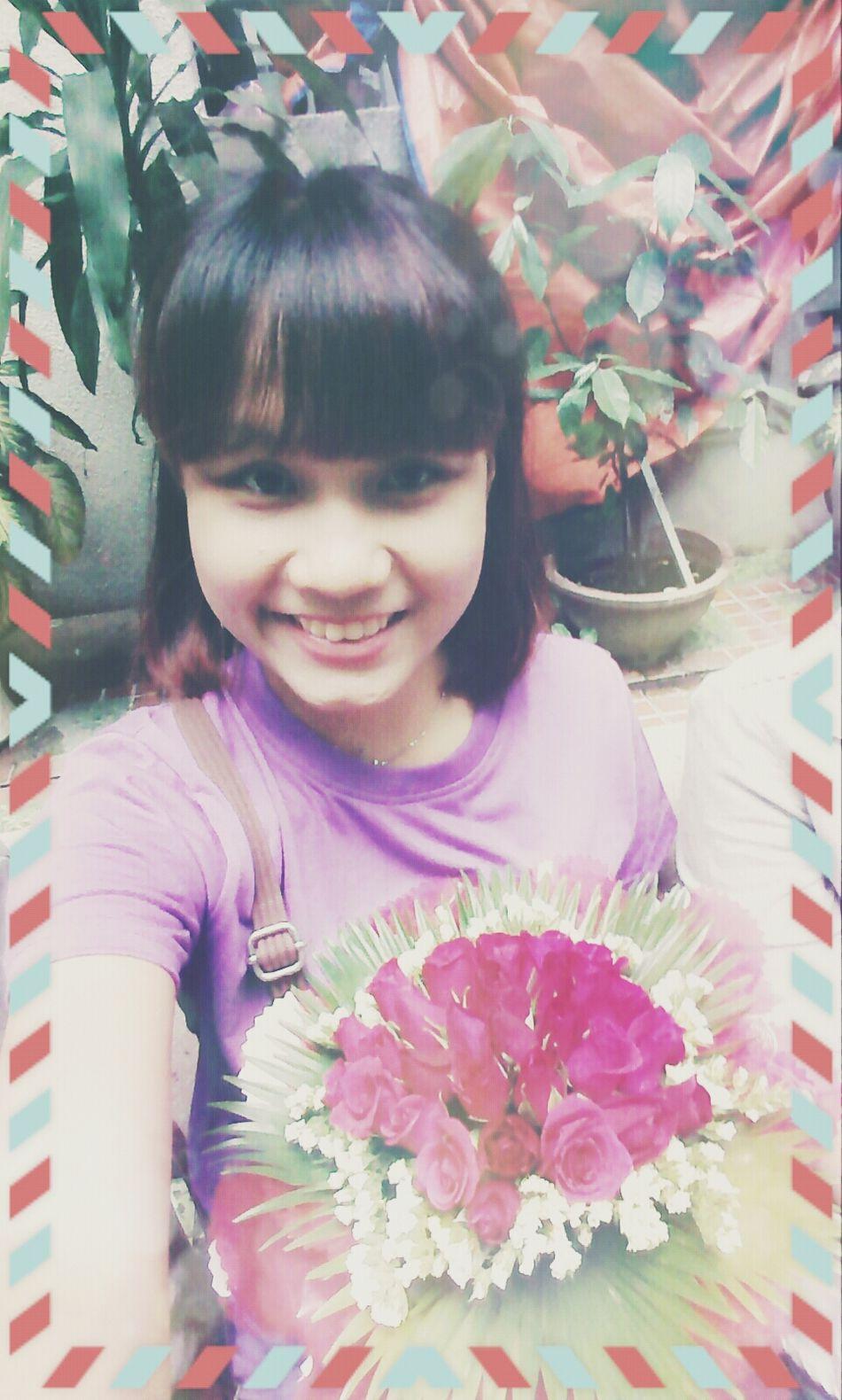 Graduation 2014 Selfie Cogratualtion Flower First Eyeem Photo