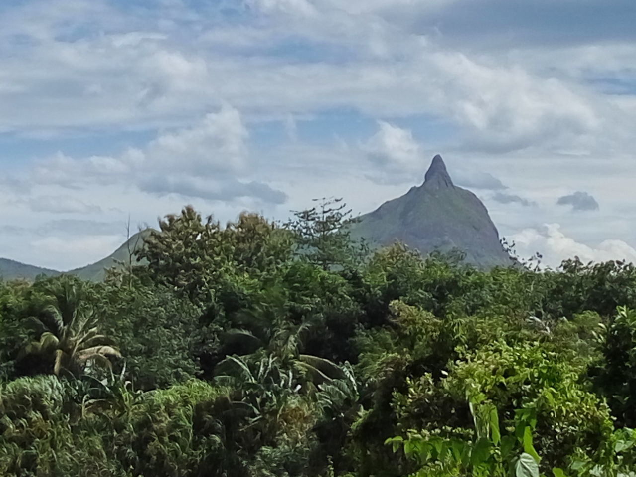 Gunung Jempol (Thumb up Mountain) South Sumatra, Indonesia Mountain Landscape Nature No People Outdoors INDONESIA Finding New Frontiers
