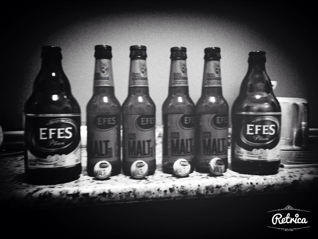 Black And White Efes Pilsen Piiz Hi!