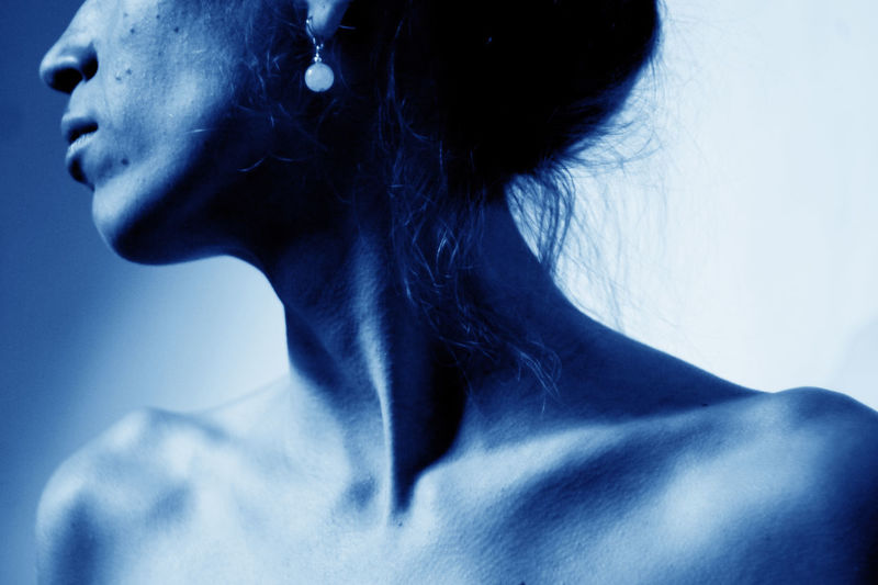 #Blue #clavicula #cold #detail #melancholy #sternocleidomastoideus #Winter Close-up Ear Fashion Human Body Part Human Hair Human Neck Human Skin One Person One Woman Only People Rear View Women