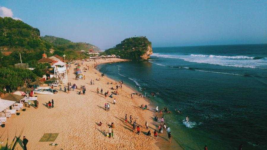Beach Have Fun Gunungkidul Yogyakarta, Indonesia Likeforlike