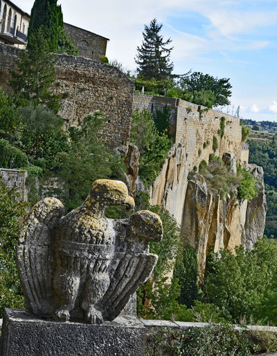 Ancient Ancient Civilization Archaeology Architecture Eagle Italy No People Orvieto, Italy Outdoors Sculpture TOWNSCAPE Walled City