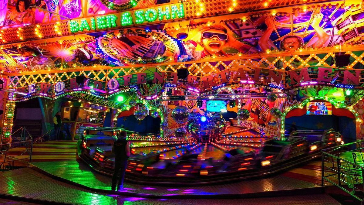 Architecture Built Structure Colorful Colors Cultures Festival Illuminated Lights Lights And Shadows Multi Colored Night Nightphotography No People Outdoors Party Time Sky Volksfest Volksfestplatz Volksfest♥