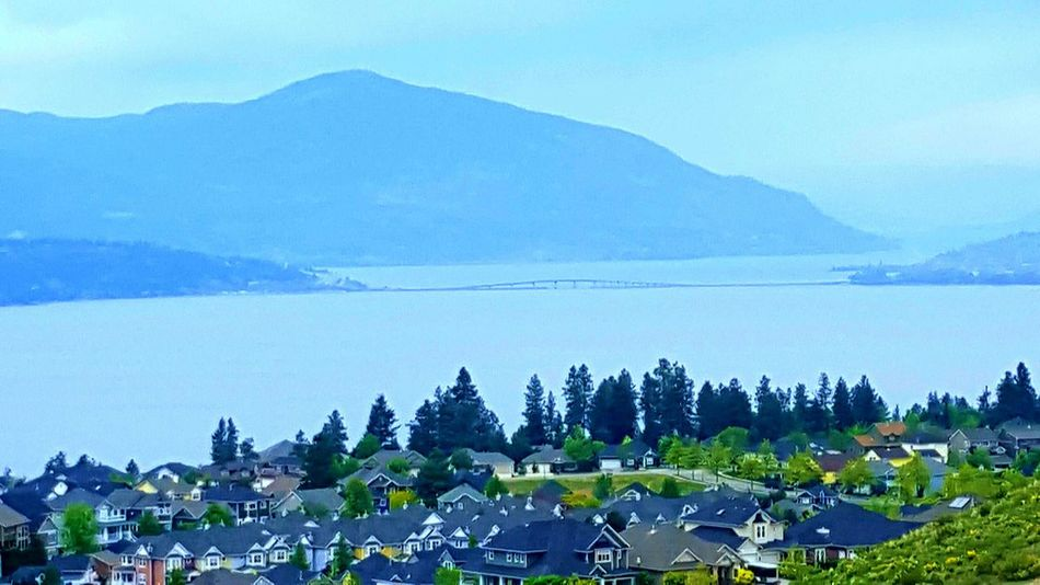 Landscapes Bright Sky Lake View Natural Beauty Nature True Beauty Majestic Nature Landscape Kelowna Clouds And Sky Springtime Rich Colors Green Okanagan Valley City View  Bridge Storm Cloud First Eyeem Photo Eyeem Best Shots - Canada The Great Outdoors With Adobe
