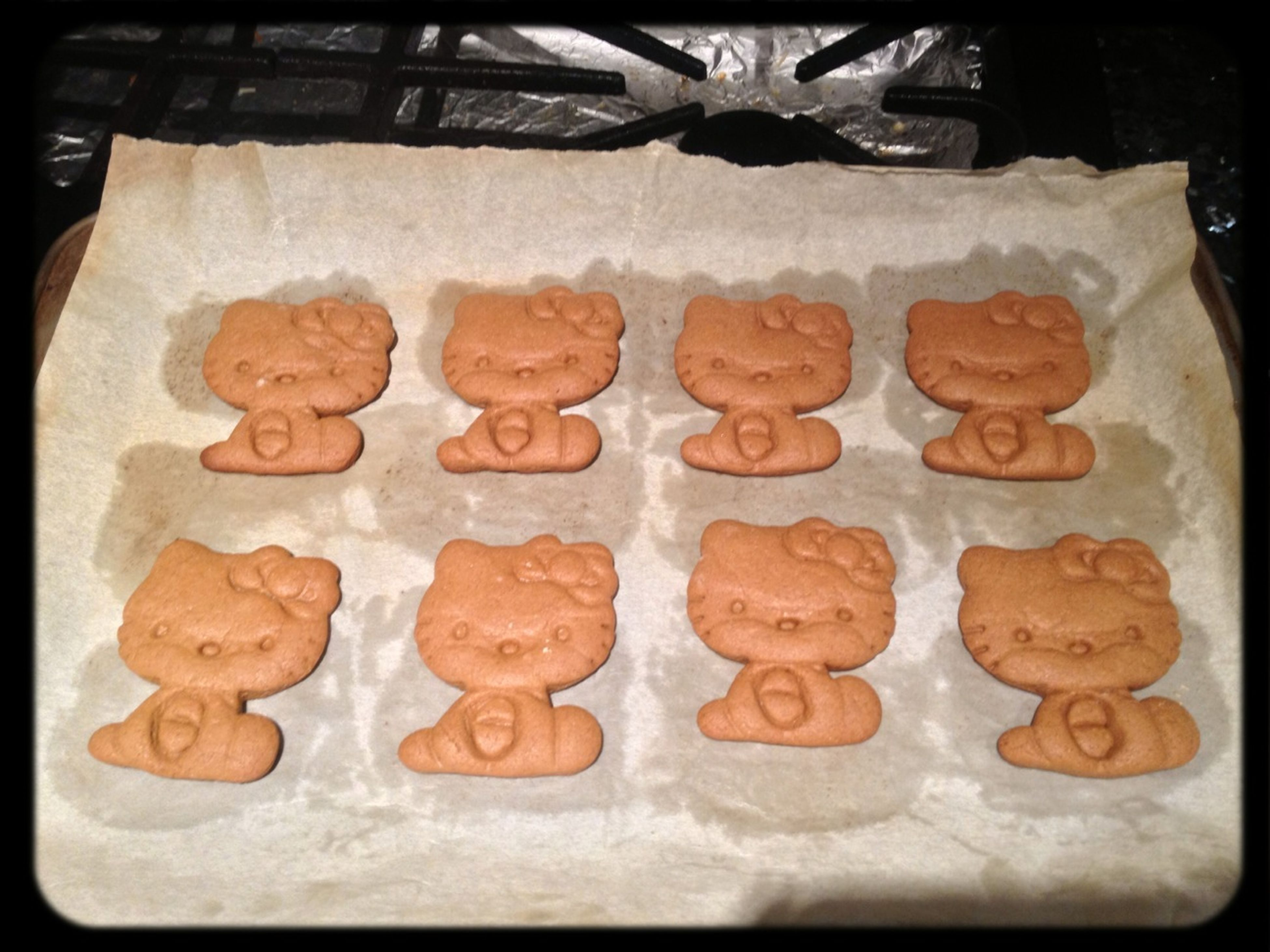More Hello Kitty Gingerbread Cookies...