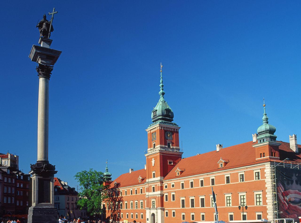 Poland Polen Warsaw Warszawa  Zamek Królewski