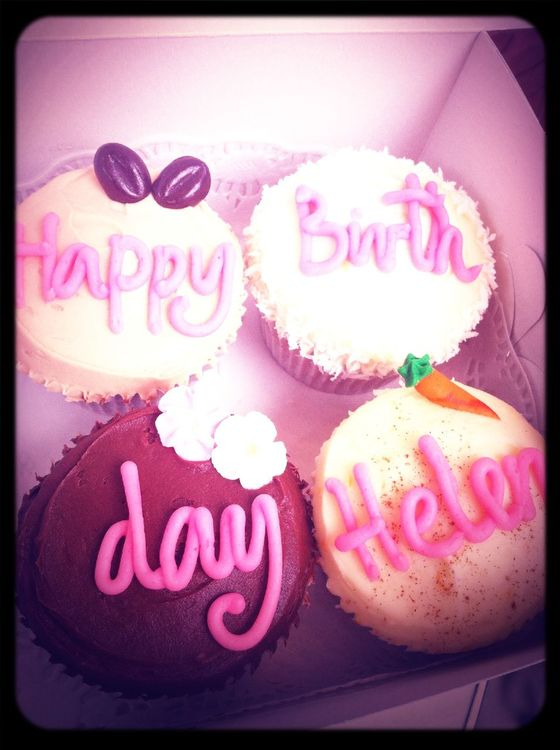 Happy birthday in London by Helen