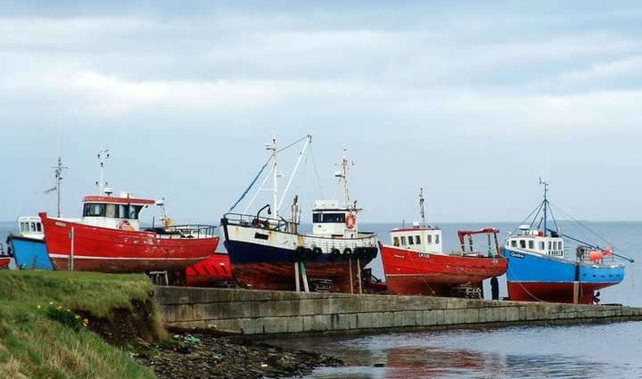 Slipway Fishing Boats Colourful Boat Boats Orkneyisles Orkney Orkneyislands Kirkwall Kirkwall, Orkney Lifeasiseeit Johnnelson Scotland