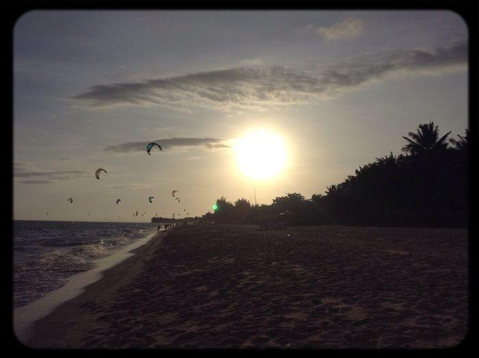 Sunshine mui ne vietnam life love beach sun sunset muine beautiful Enjoying The Sun Relaxing