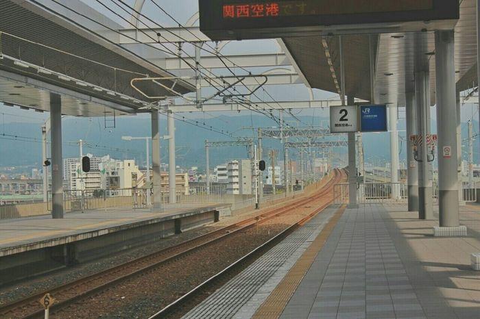 Train Station Osaka,Japan Peaceful Holiday Good Memory