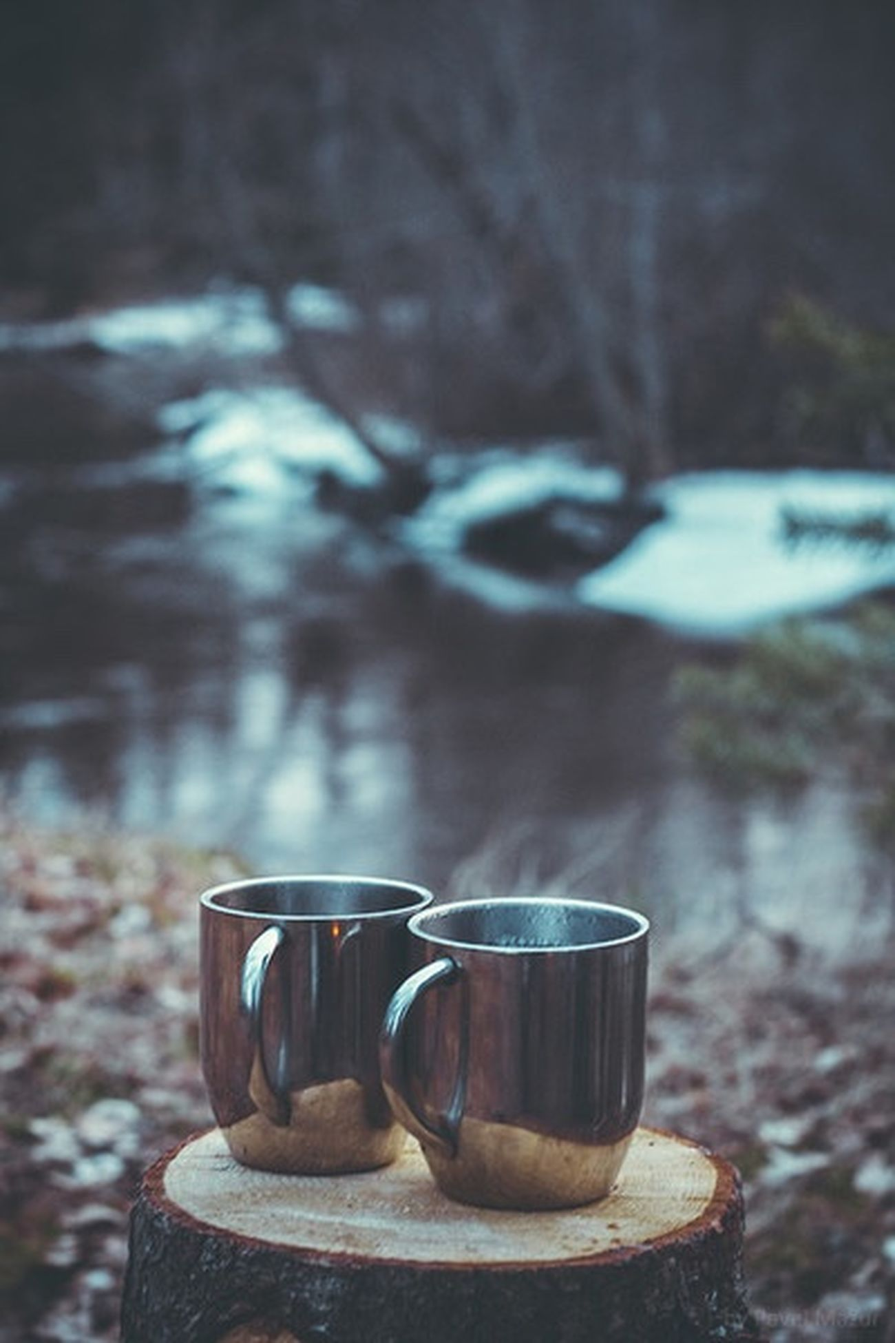 Hotchocolate Winter December Nature Twocups Hipster Indie Boho Grunge