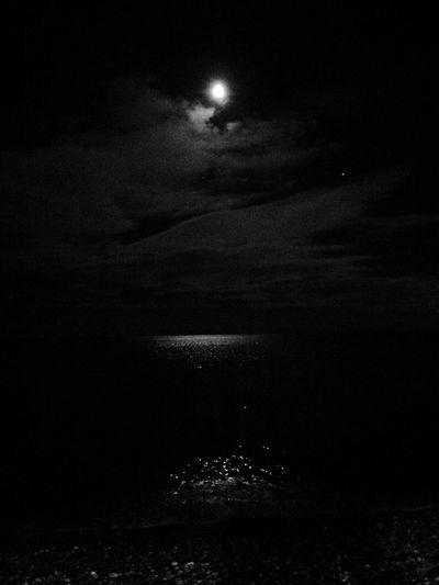 Nighttime at the beach Hidden Gems
